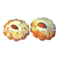 Almond in coconut
